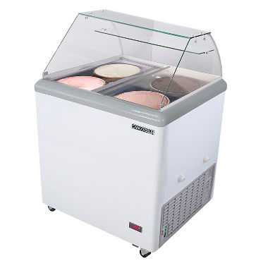 Fabulous Maxx Ice Cream Dipping Cabinet 7 5 Cu Ft 4 Tub Interior Design Ideas Greaswefileorg