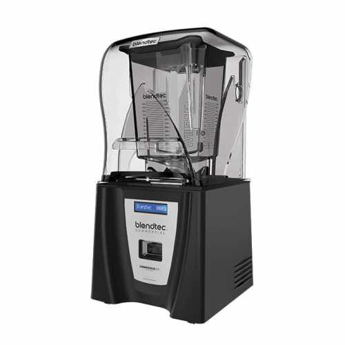 New Blendtec Connoisseur 825 Commercial Blender 2 Wildside Jars Sound Reduction C825c11q B1gb1d