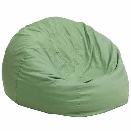 Flash Furniture-FLA-DG-BEAN-LARGE-SOLID-GRN-GG-31