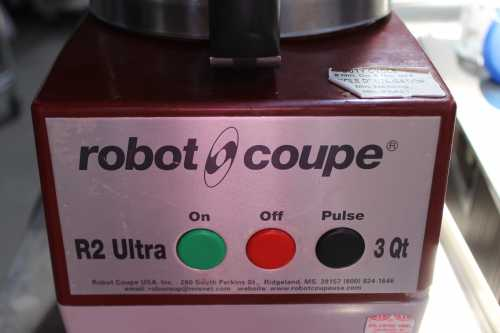Robot Coupe-U-ROB-R2ULTRA-33