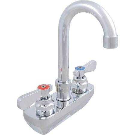 John Boos PBF-4SM-5GLF Commercial Kitchen Faucets