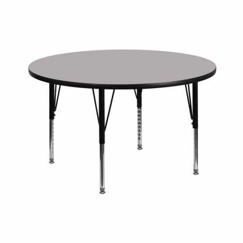 Flash Furniture-FLA-XU-A42-RND-GY-T-P-GG-31