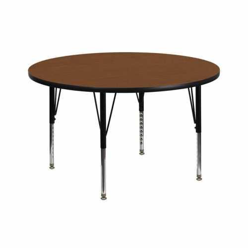 Flash Furniture-FLA-XU-A42-RND-OAK-H-P-GG-31