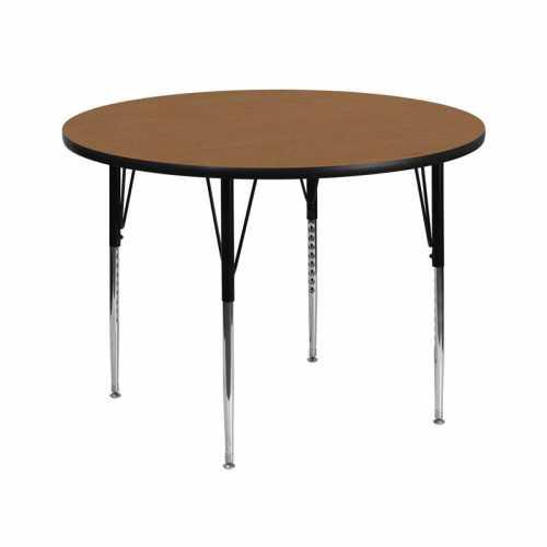 Flash Furniture-FLA-XU-A42-RND-OAK-T-A-GG-31