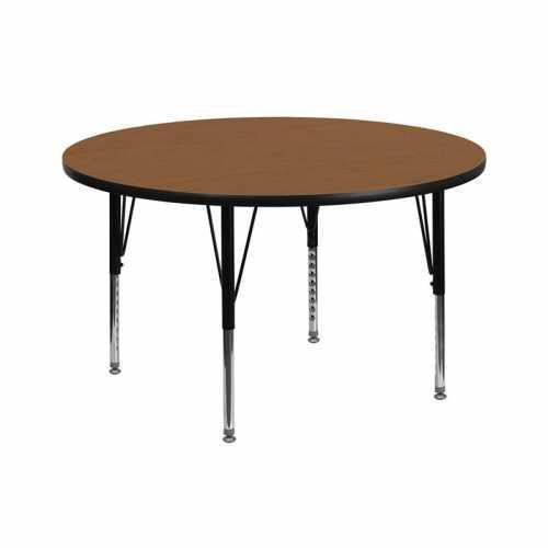 Flash Furniture-FLA-XU-A42-RND-OAK-T-P-GG-31