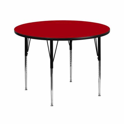 Flash Furniture-FLA-XU-A42-RND-RED-T-A-GG-31