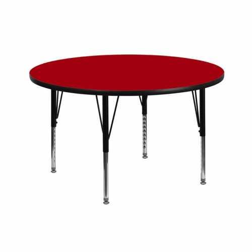Flash Furniture-FLA-XU-A42-RND-RED-T-P-GG-31