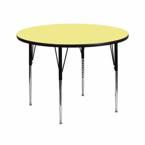 Flash Furniture-FLA-XU-A42-RND-YEL-T-A-GG-31