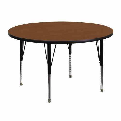 Flash Furniture-FLA-XU-A48-RND-OAK-H-P-GG-31