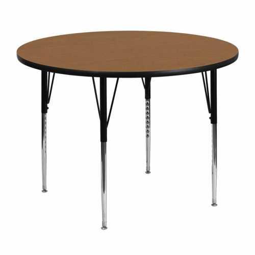 Flash Furniture-FLA-XU-A48-RND-OAK-T-A-GG-31