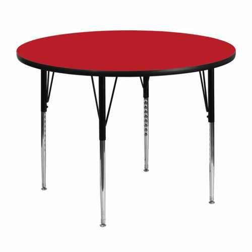 Flash Furniture-FLA-XU-A48-RND-RED-H-A-GG-31