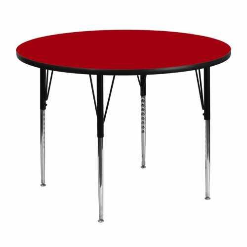 Flash Furniture-FLA-XU-A48-RND-RED-T-A-GG-31