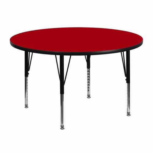 Flash Furniture-FLA-XU-A48-RND-RED-T-P-GG-31