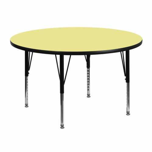 Flash Furniture-FLA-XU-A48-RND-YEL-T-P-GG-31
