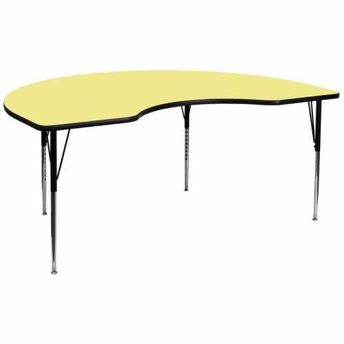 Flash Furniture-FLA-XU-A4896-KIDNY-YEL-T-A-GG-31