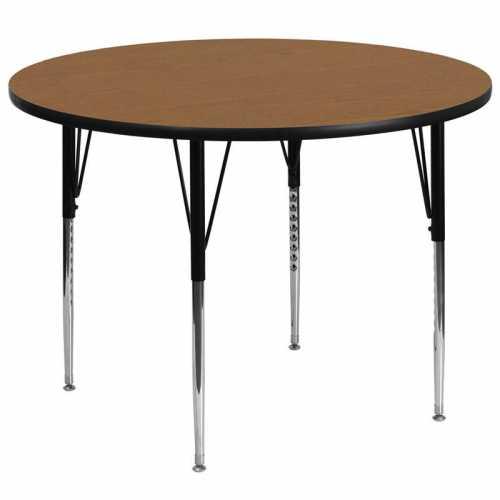Flash Furniture-FLA-XU-A60-RND-OAK-T-A-GG-31