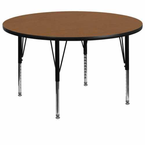 Flash Furniture-FLA-XU-A60-RND-OAK-T-P-GG-31