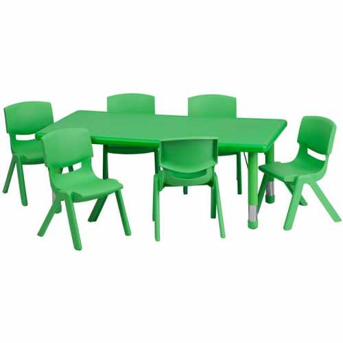 Flash Furniture-FLA-YU-YCX-0013-2-RECT-TBL-GREEN-E-GG-31