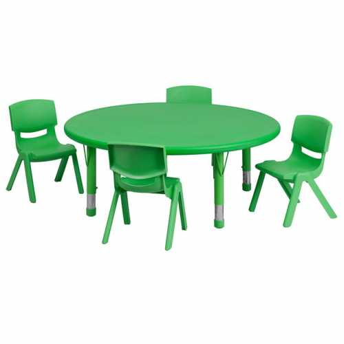 Flash Furniture-FLA-YU-YCX-0053-2-ROUND-TBL-GREEN-E-GG-31