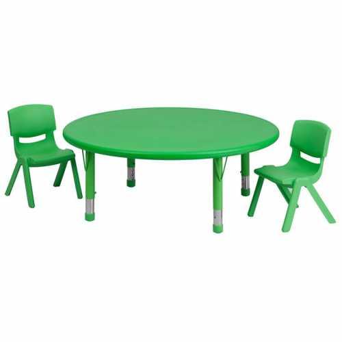 Flash Furniture-FLA-YU-YCX-0053-2-ROUND-TBL-GREEN-R-GG-31