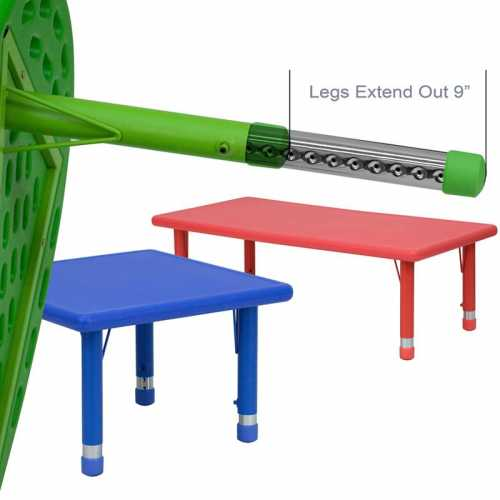 Flash Furniture-FLA-YU-YCX-007-2-ROUND-TBL-GREEN-GG-31