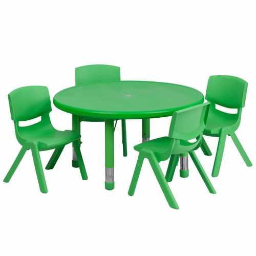 Flash Furniture-FLA-YU-YCX-0073-2-ROUND-TBL-GREEN-E-GG-31
