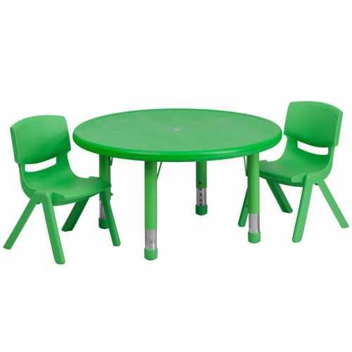 Flash Furniture-FLA-YU-YCX-0073-2-ROUND-TBL-GREEN-R-GG-31