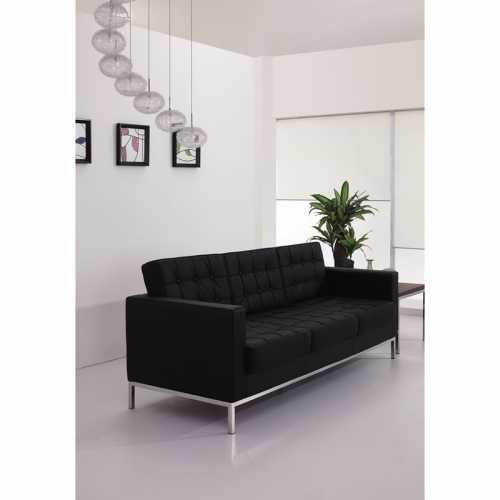 Flash Furniture-FLA-ZB-LACEY-831-2-SOFA-BK-GG-31