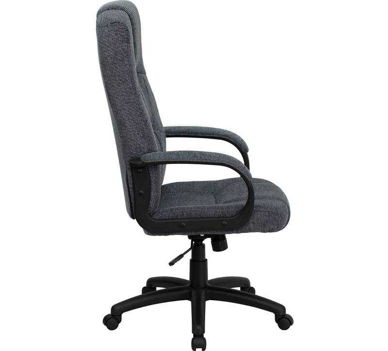 Flash Furniture High Back Gray Fabric Executive Office Chair