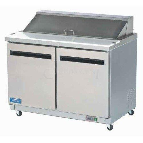 NEW Arctic Air Double Two Door Sandwich Prep Table Salad - Restaurant supply prep table