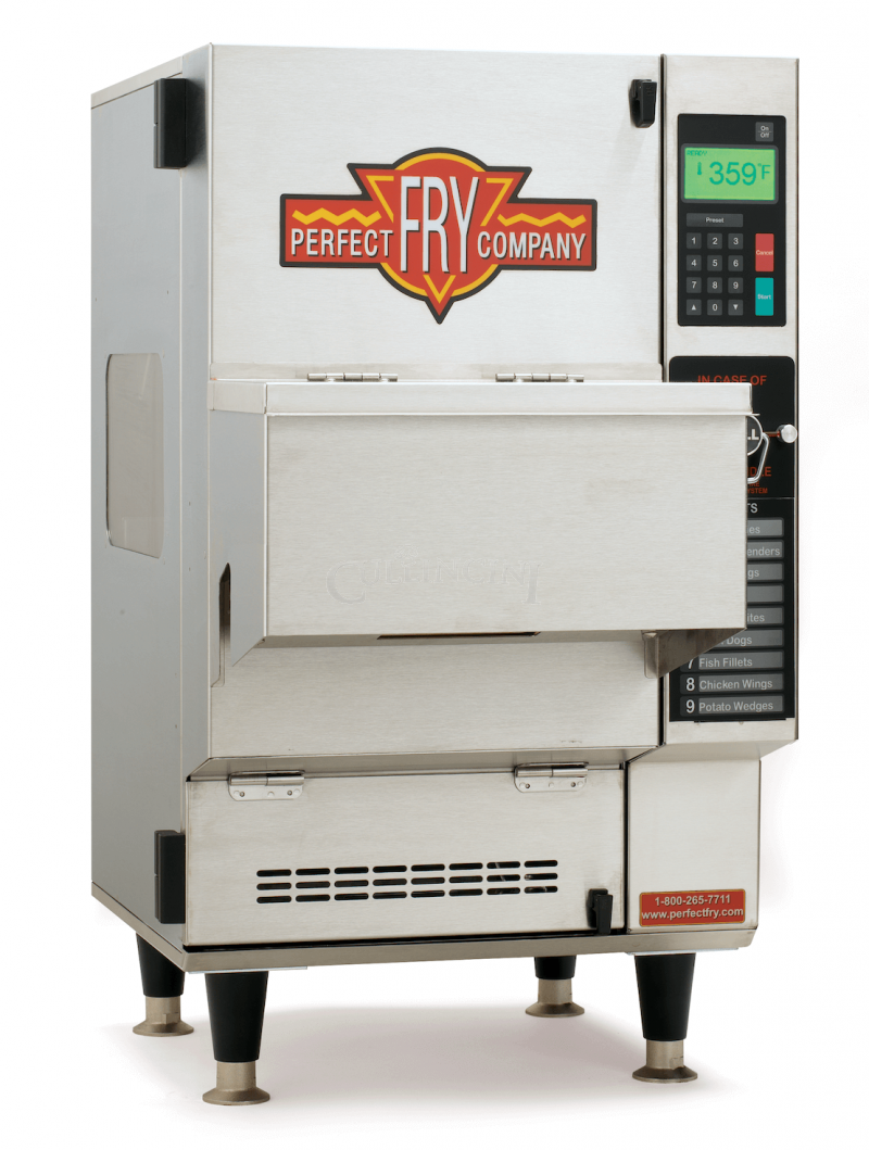 Perfect fry pfa3750 fully automatic ventless countertop for Perfect kitchen equipment