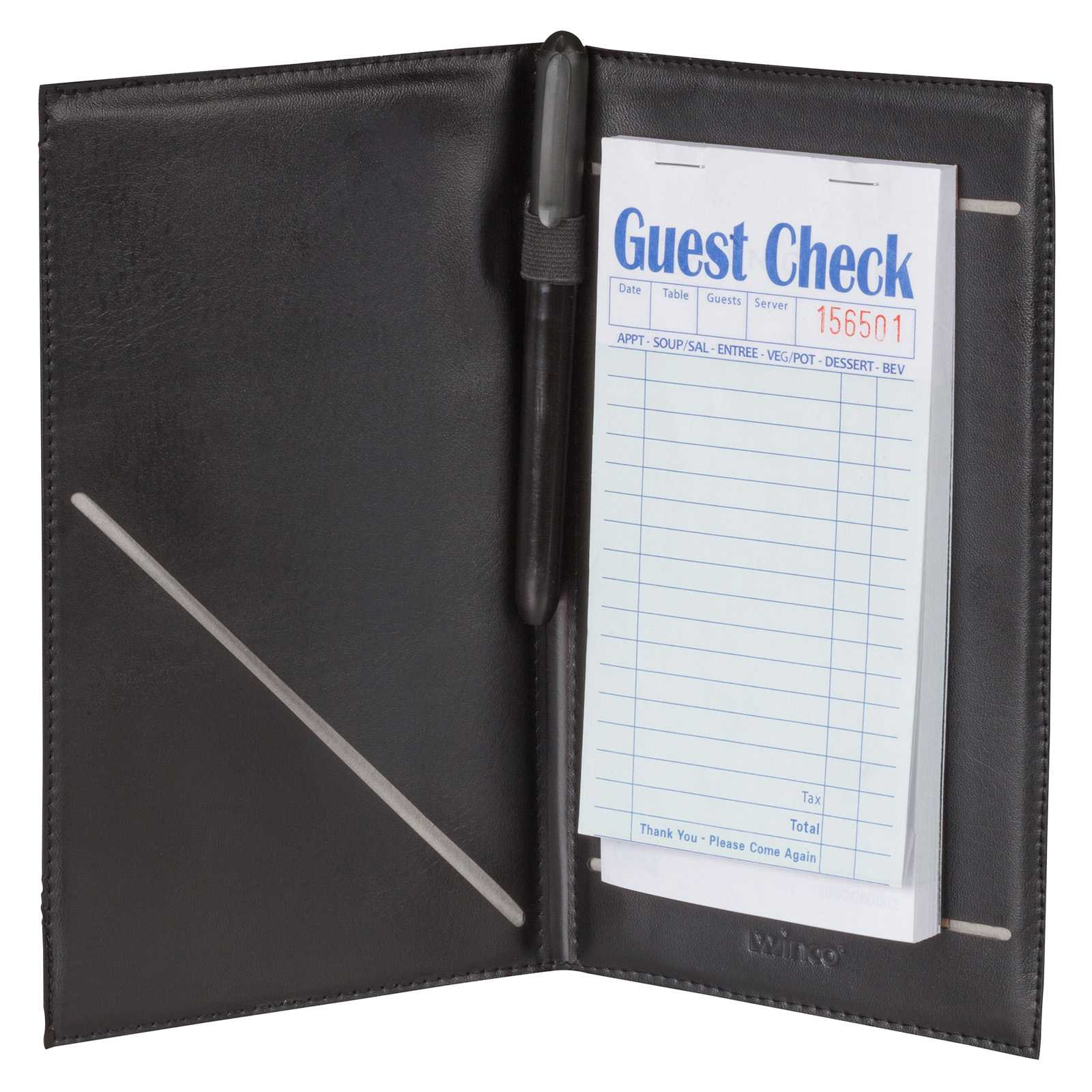 Menu Holders and Guest Check Presenters