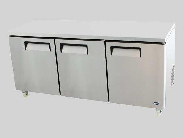 Commercial Undercounter Refrigerators