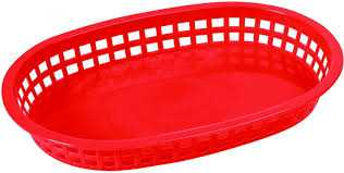 Plastic Food Baskets