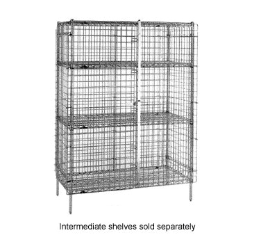 Wire Shelving Security Cage