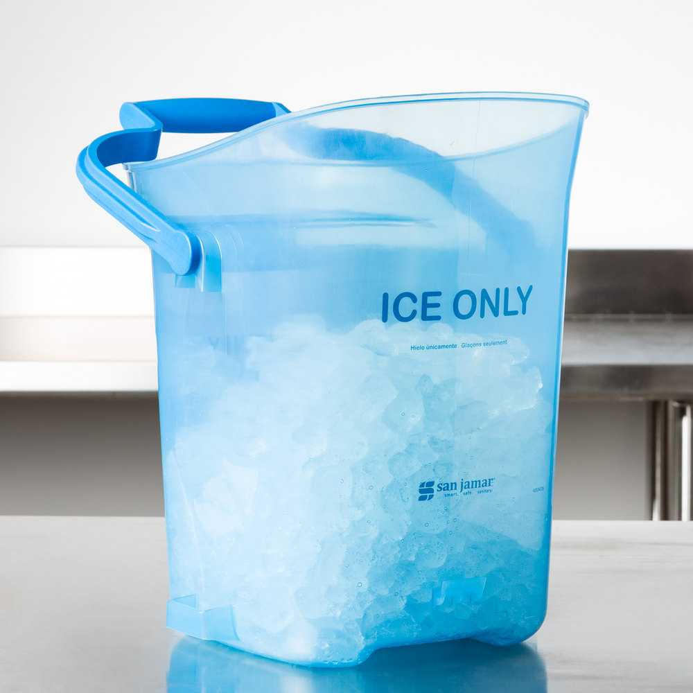 Ice Transport Buckets & Mobile Ice Bins