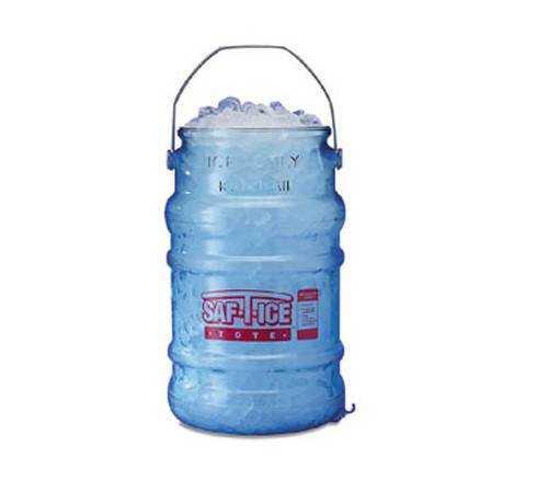Ice Transport Buckets & Mobile Ice Bins