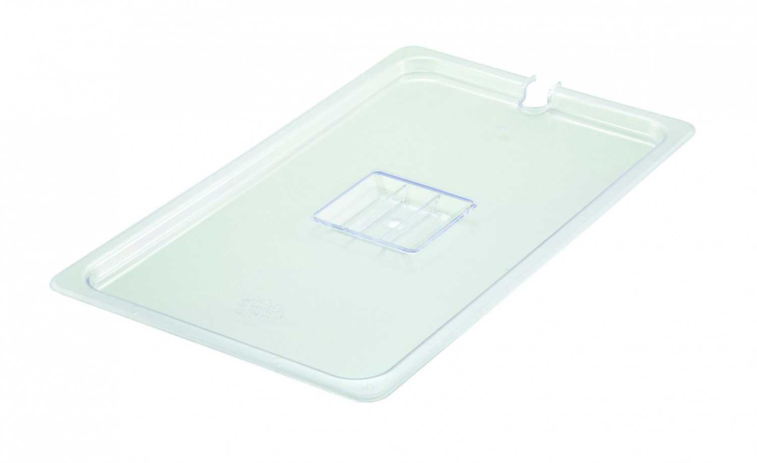 Clear Regular Temperature Plastic Food Pans & Lids