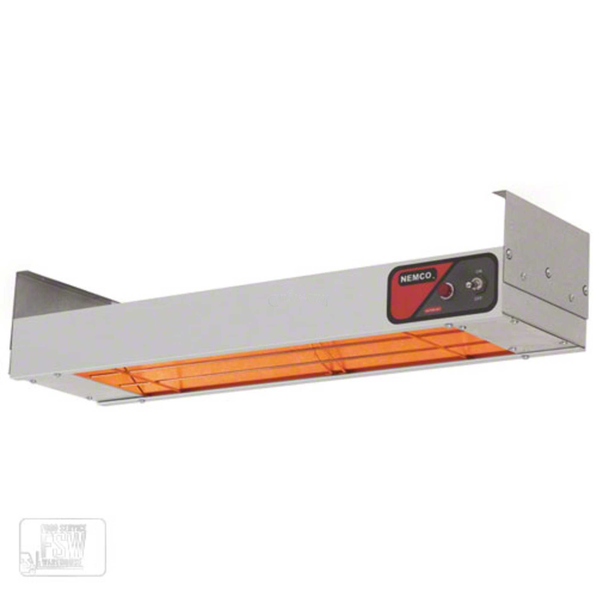 Overhead Single Strip Food Warmer Heat Lamps