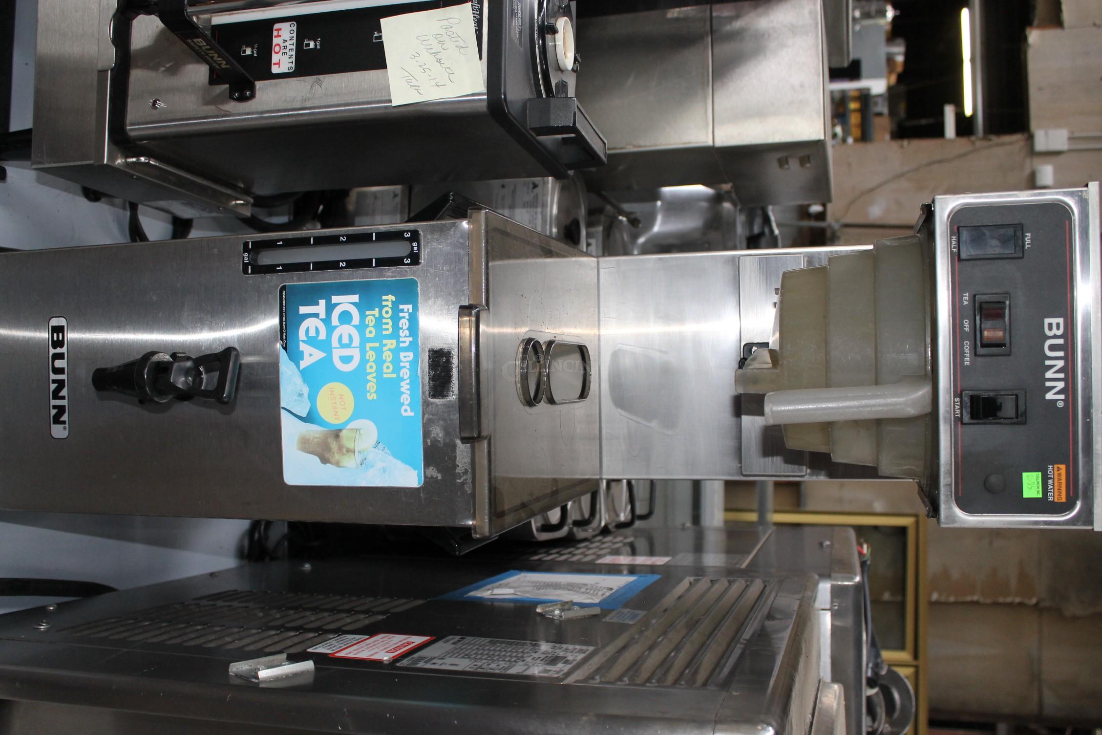 Used Tea Dispensers/Equip,