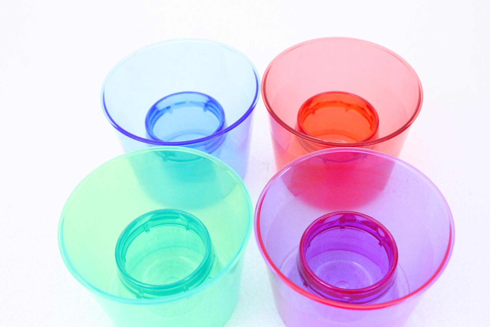 Reusable Plastic Barware & Dessert Shot Glasses