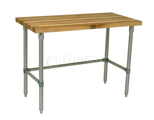Wood Top Work Tables and Baker's Tables