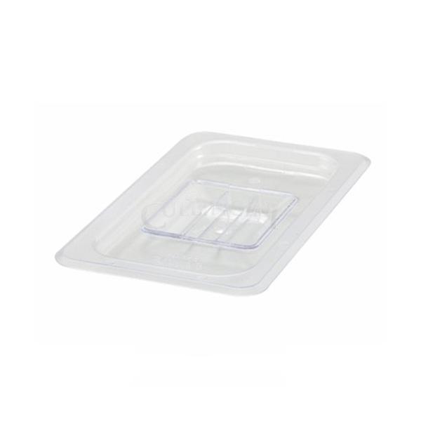 Clear Regular Temperature Plastic Food Pans & Lids