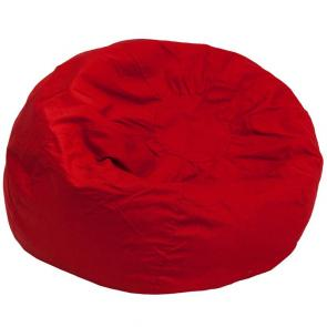 Flash Furniture-FLA-DG-BEAN-LARGE-SOLID-RED-GG-21