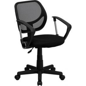 Flash Furniture-FLA-WA-3074-BK-A-GG-21