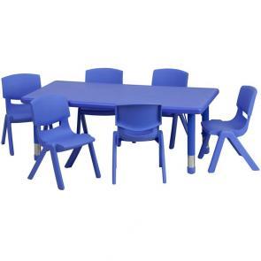 Flash Furniture-FLA-YU-YCX-0013-2-RECT-TBL-BLUE-E-GG-21